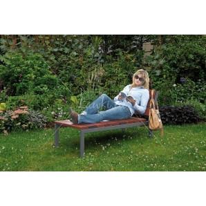 Fotel stal & drewno